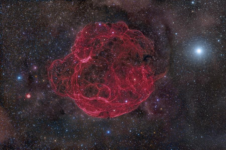 Simeón 147: remanente de supernova
