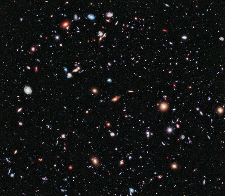 Campo profundo extremo del Hubble