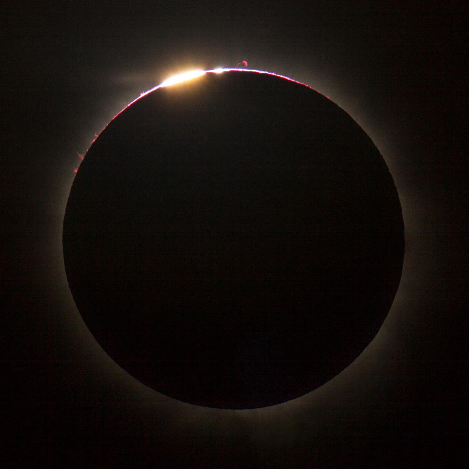 November 13 Solar Eclipse over Queensland, Australia
