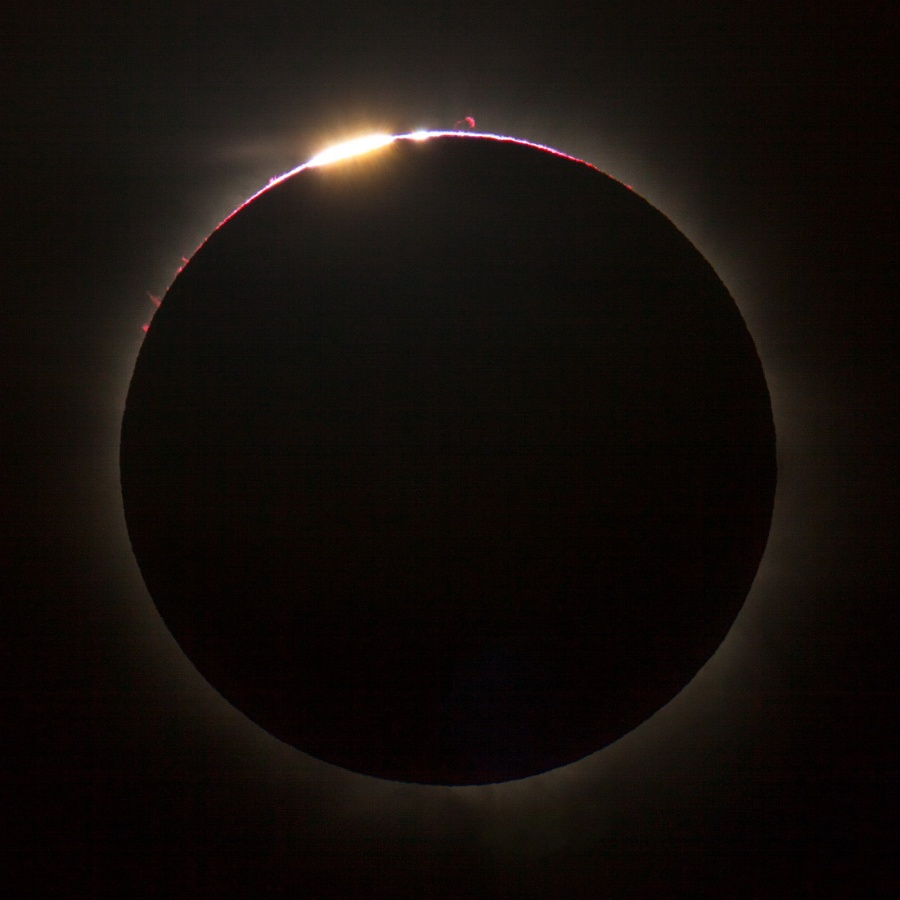 Eclipse solar sobre Queensland