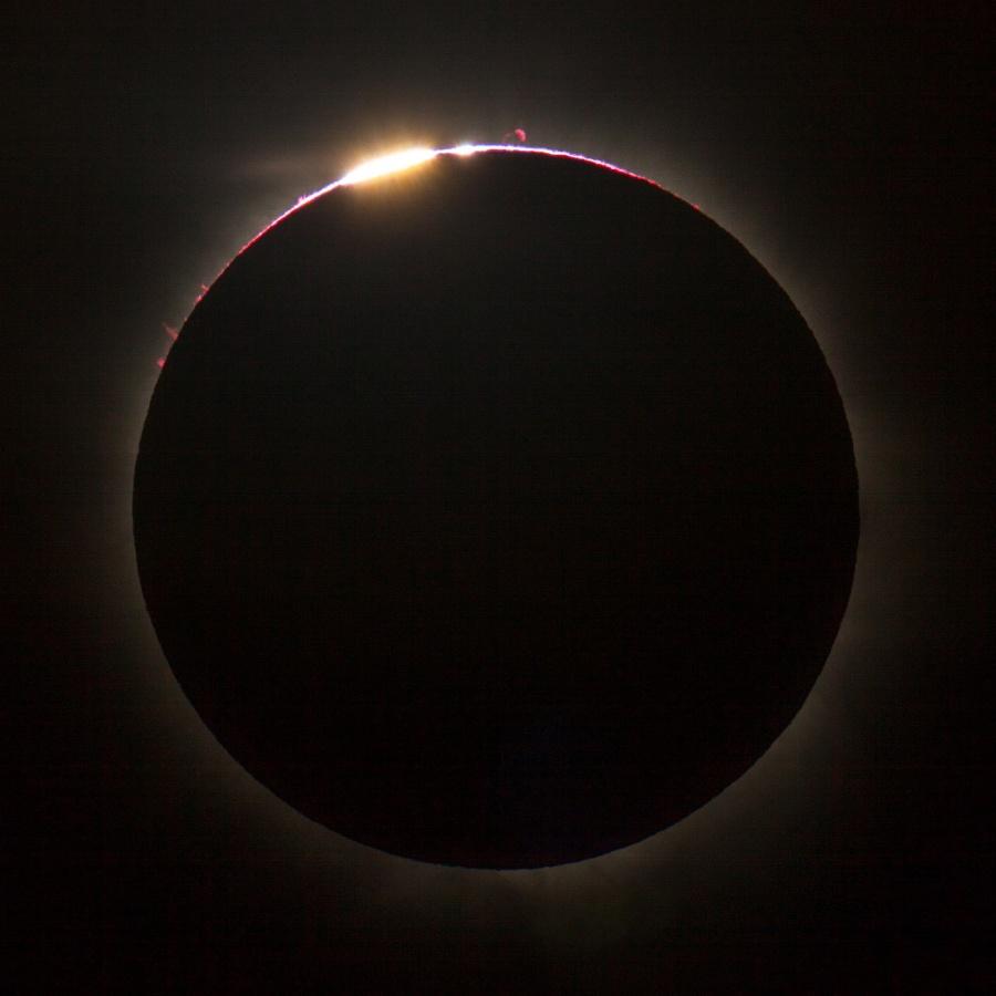 Eclipse solar sobre Queensland