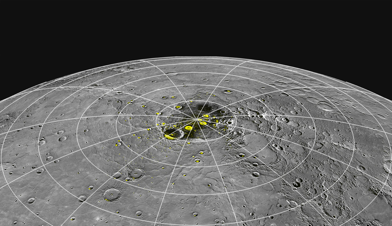 water on planet mercury - photo #11