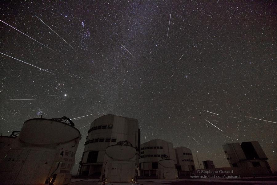 Cuando Gemini envía estrellas en Paranal