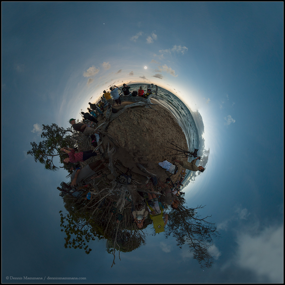 APOD: 2012 December 14 - Umbra World
