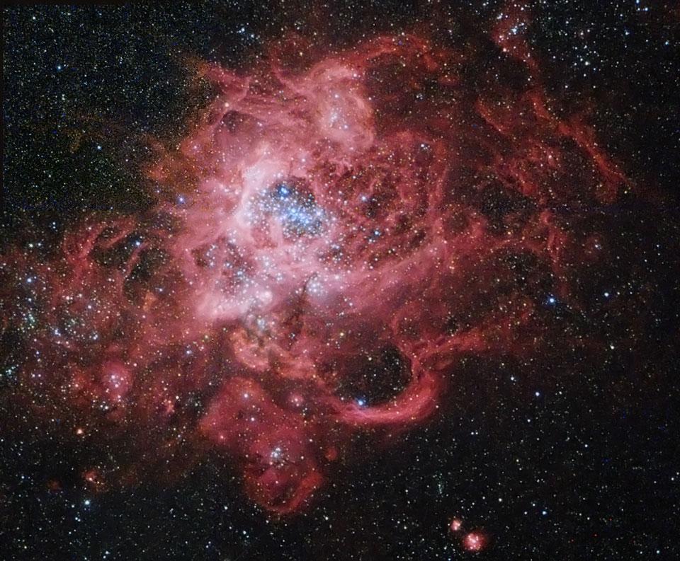 NGC 604: un vivero estelar gigante