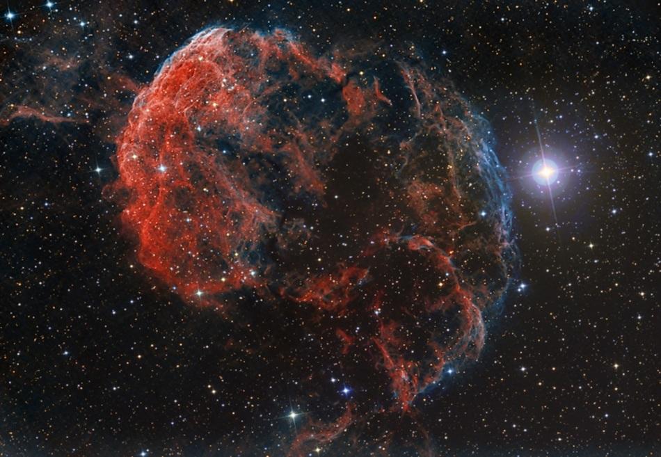 La elusiva nebulosa de la Medusa