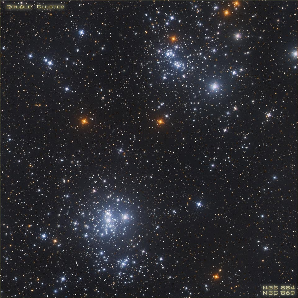 APOD: 2013 January 1 - A Double Star Cluster