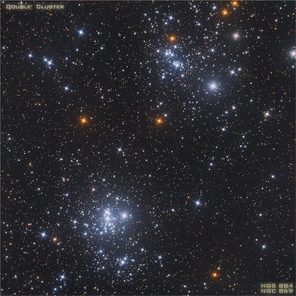Un cúmulo estelar doble