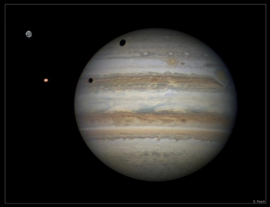 Sombras sobre Júpiter