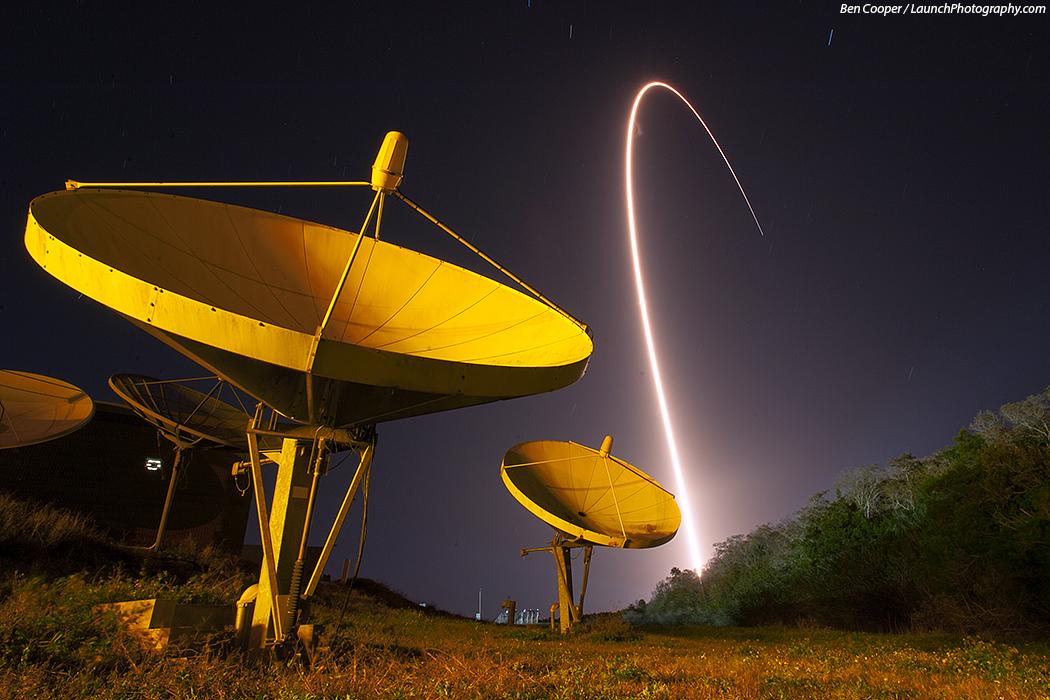 El Atlas V lanza el TDRS-K