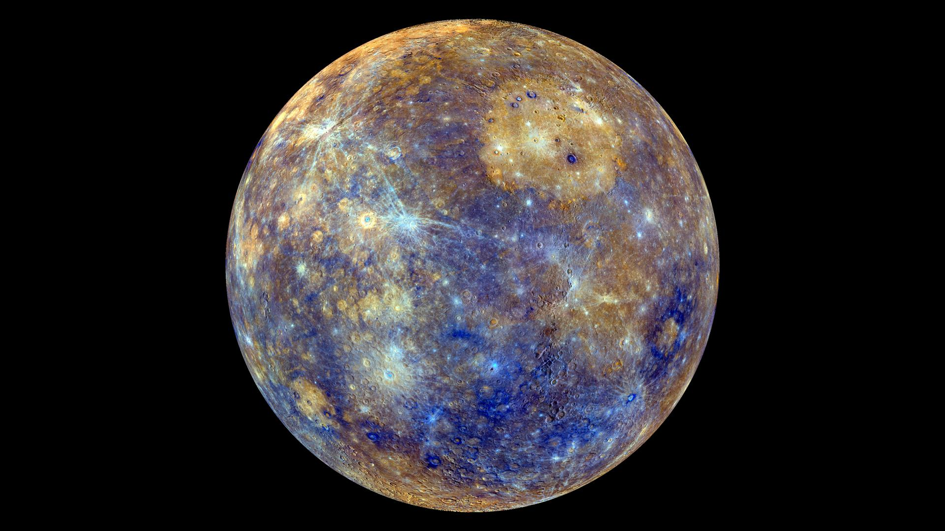 APOD: 2013 March 1 - Colors of Mercury