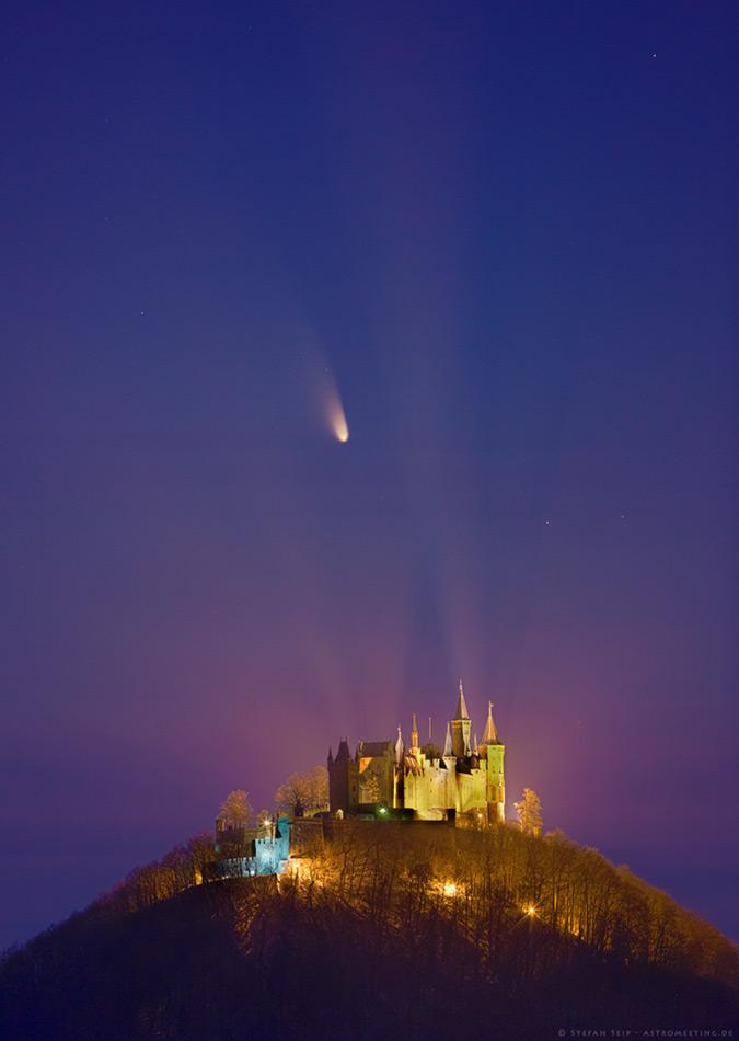 El castillo del cometa