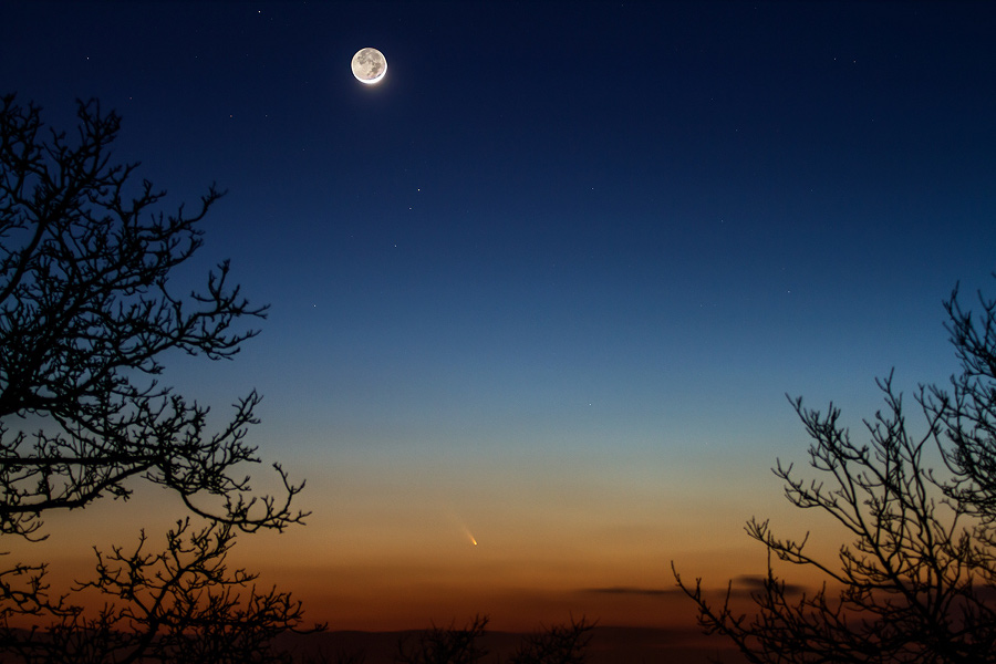 PanSTARRS desde France