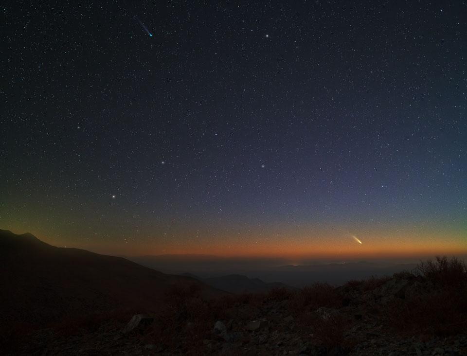 Los cometas Lemmon y PanSTARRS