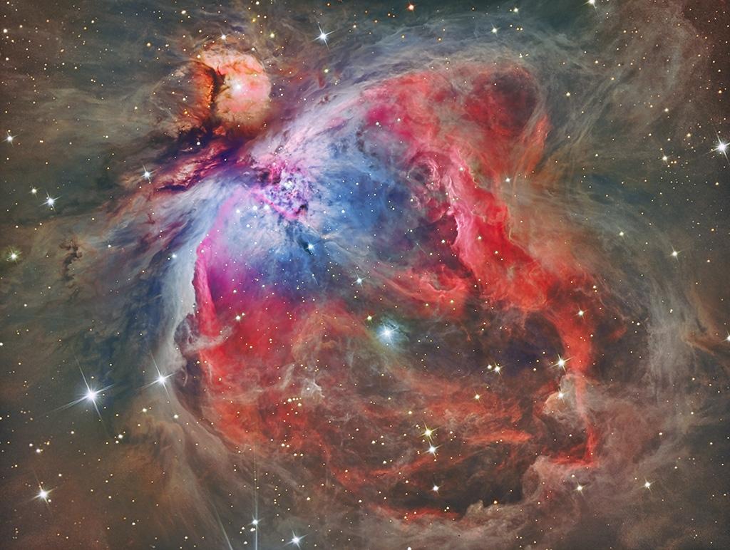 M42: dentro de la Nebulosa de Orión |
