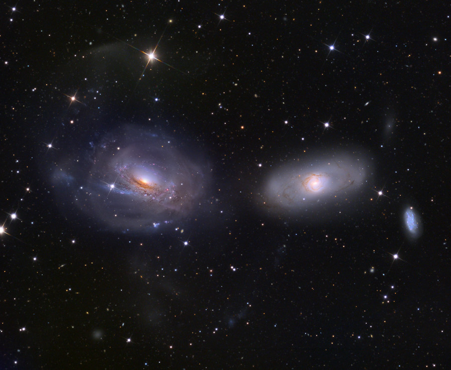 Desenredando NGC 3169