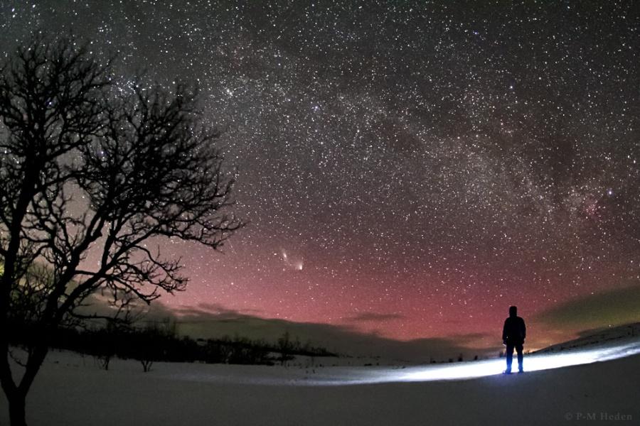 El cometa del norte