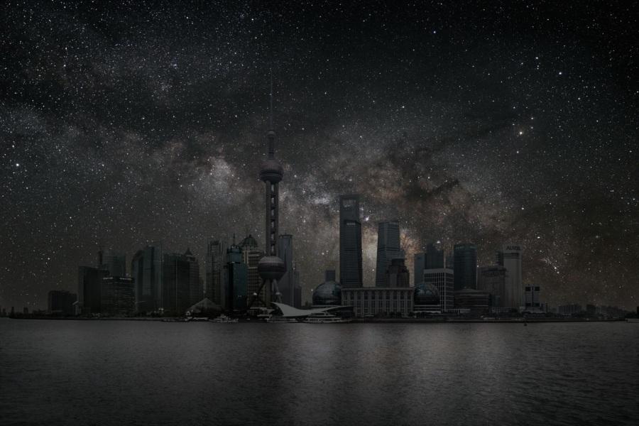 Ciudad a oscuras