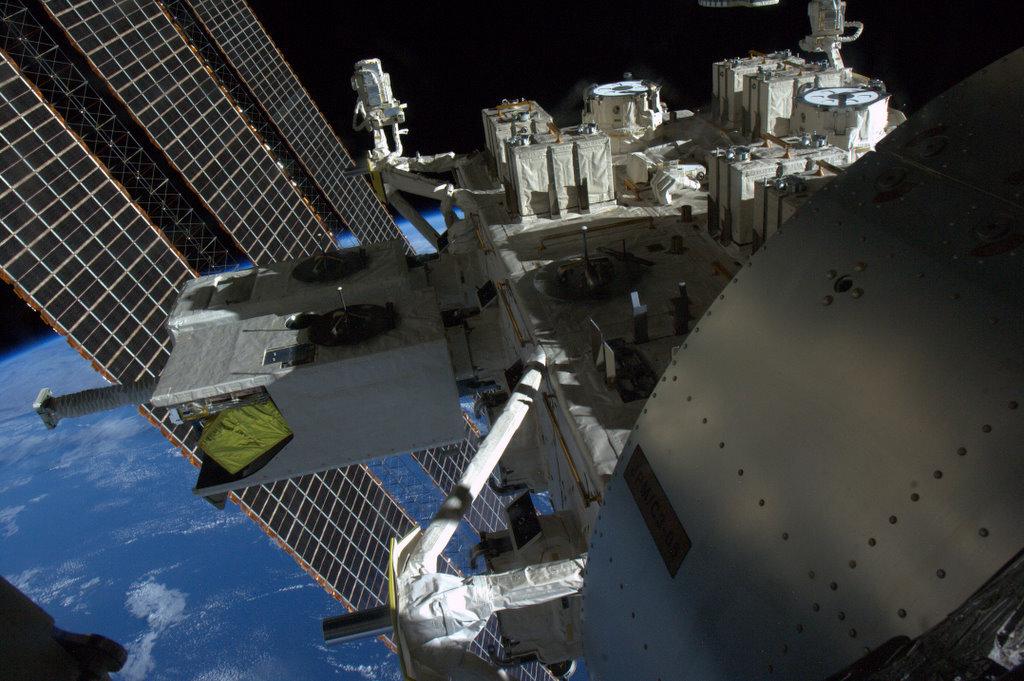 El vigía de la Estación Espacial