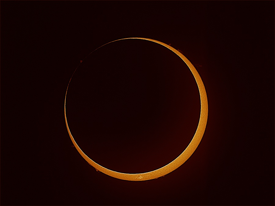 Eclipse anular en Cabo York
