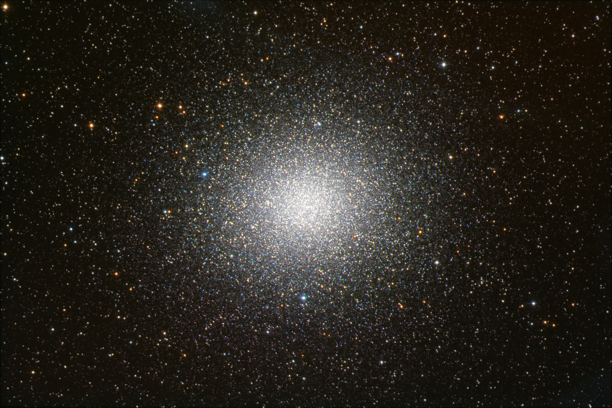 APOD: 2013 May 1 - Omega Centauri: The Brightest Globular ...