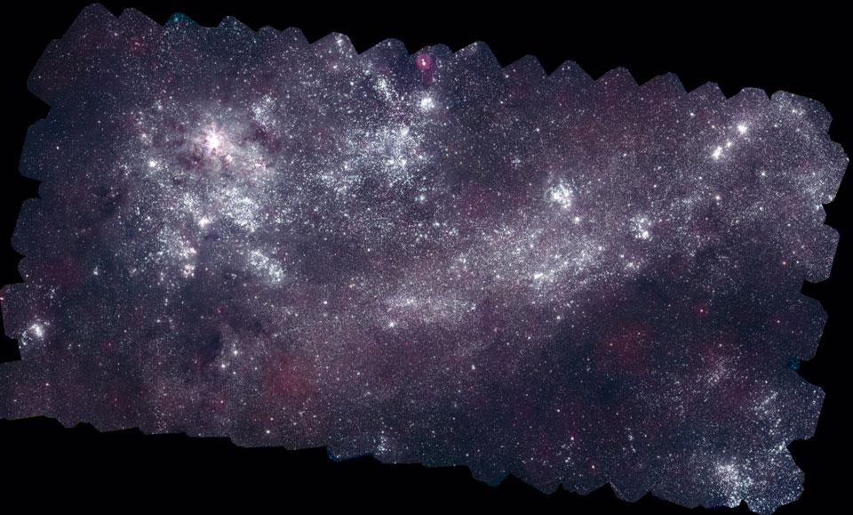 La Gran Nube de Magallanes en luz ultravioleta