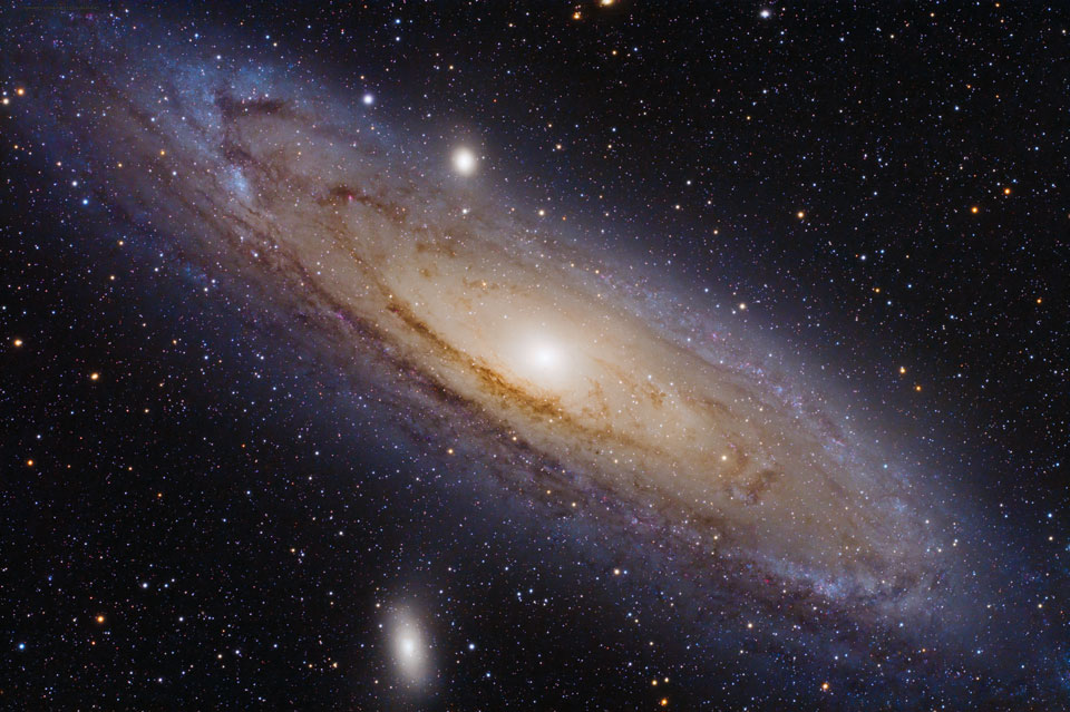 Andromeda is the nearest major