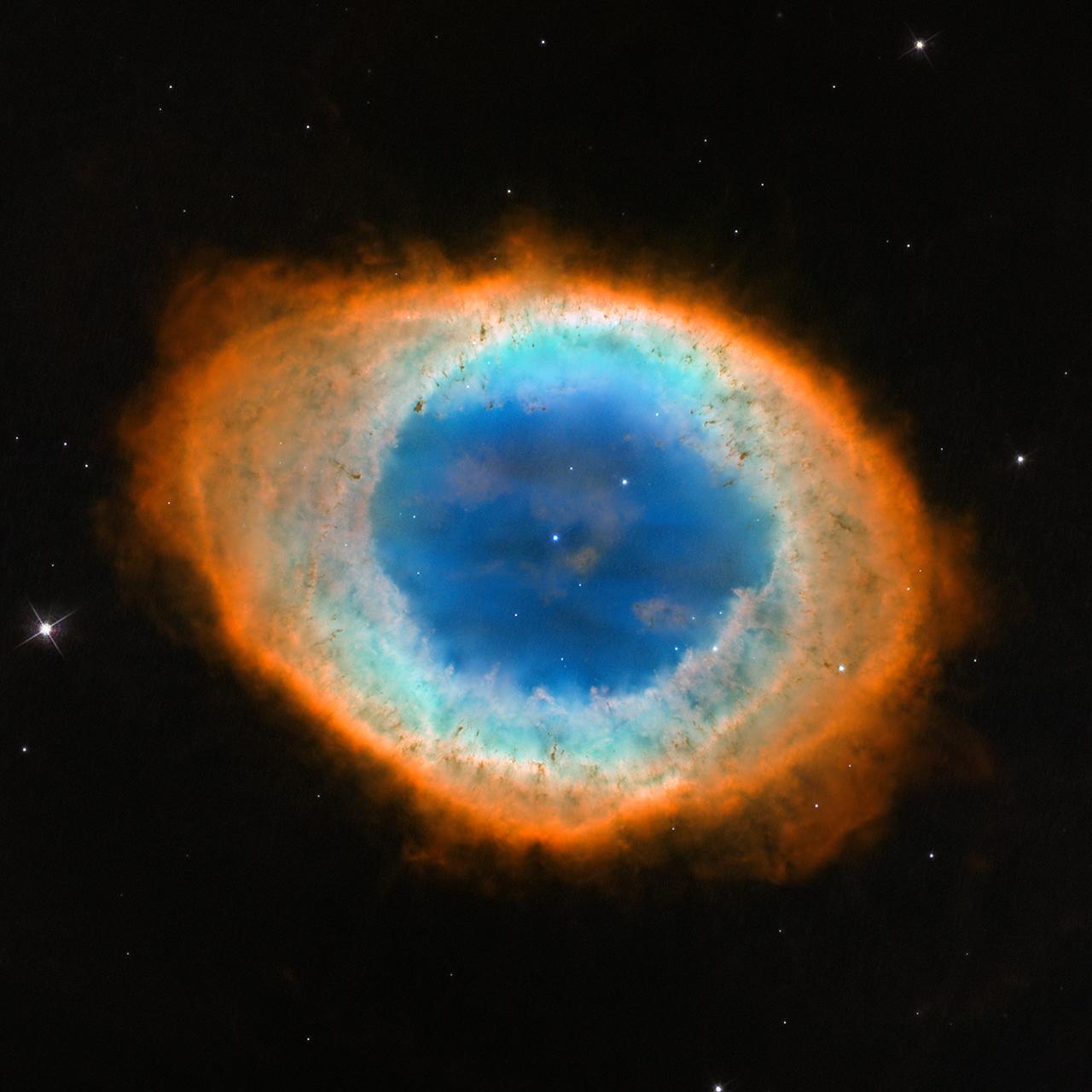 APOD: 2013 June 5 - M57: The Ring Nebula