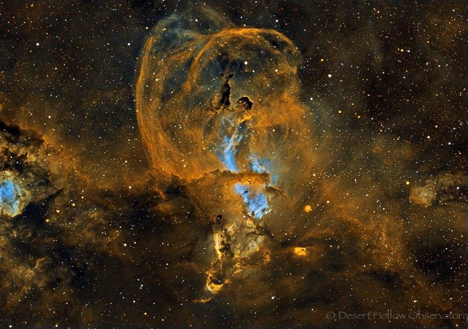 La región de formación estelar NGC 3582