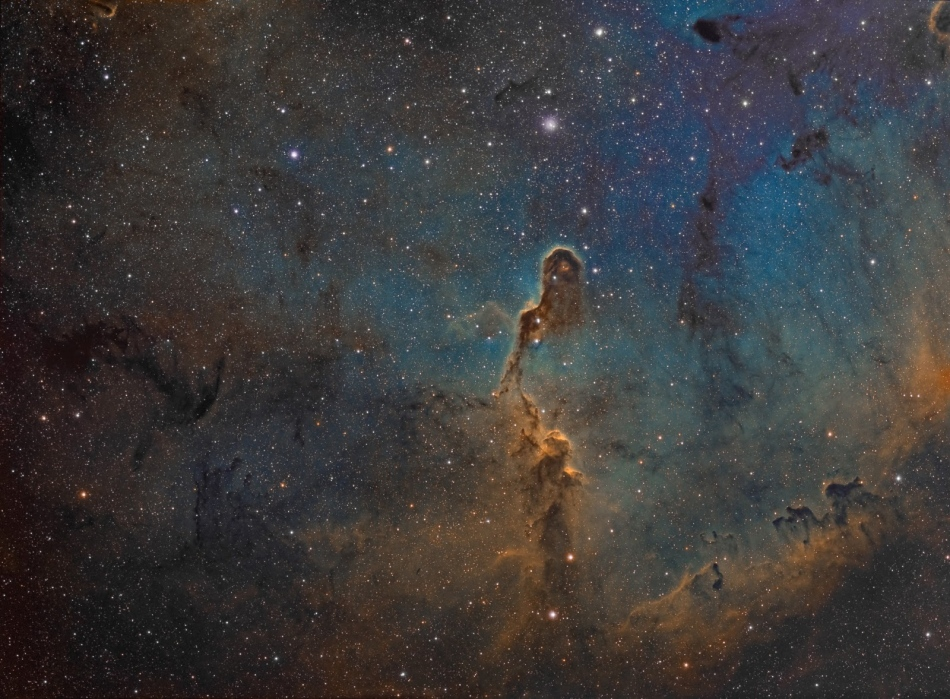La Trompa de Elefante de IC 1396