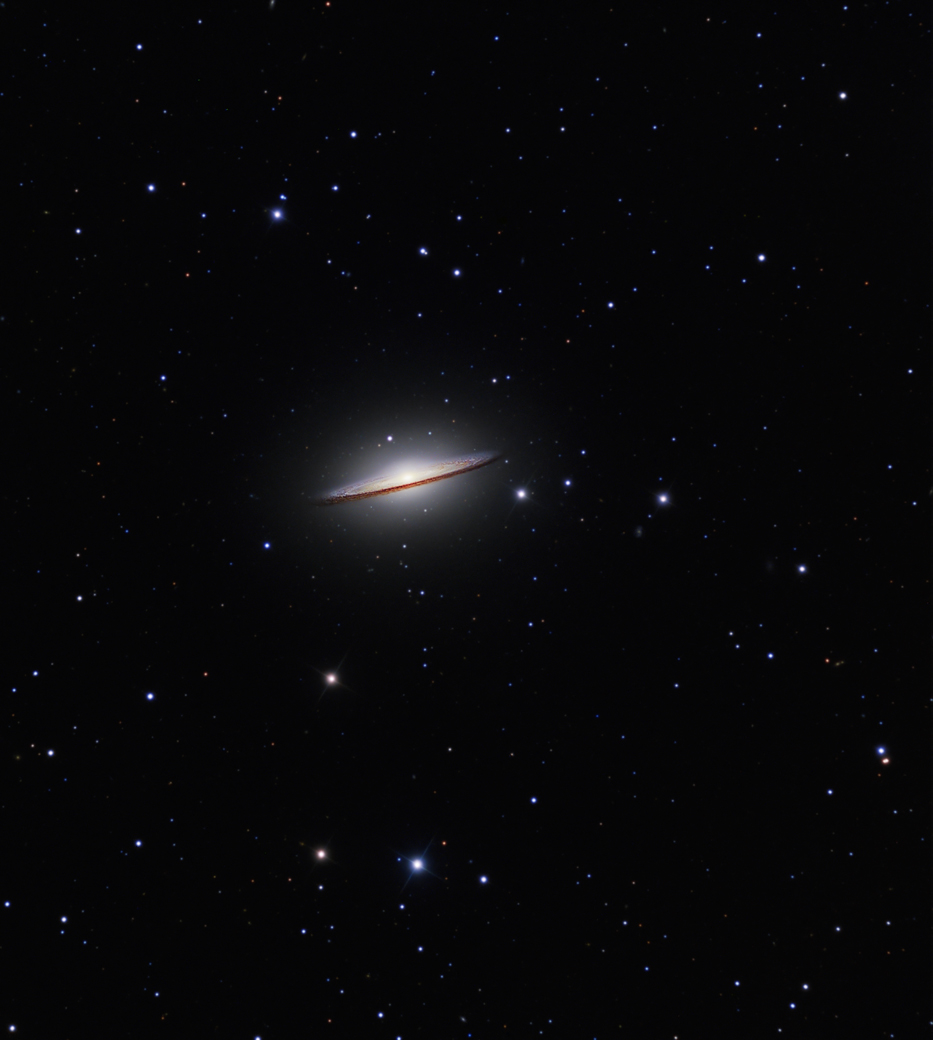 APOD: 2013 July 15 - The Sombrero Galaxy from Hale