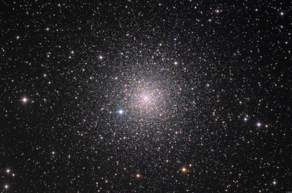 El cúmulo globular de estrellas NGC 6752