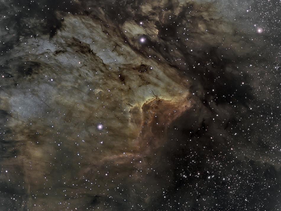 IC 5067 en la nebulosa del Pelícano
