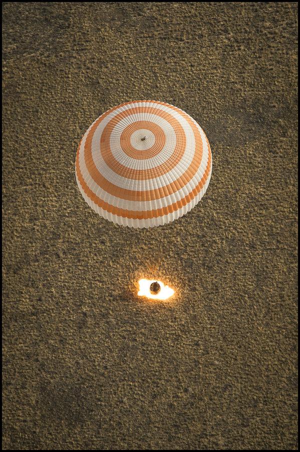 Aterrizaje en el planeta Tierra