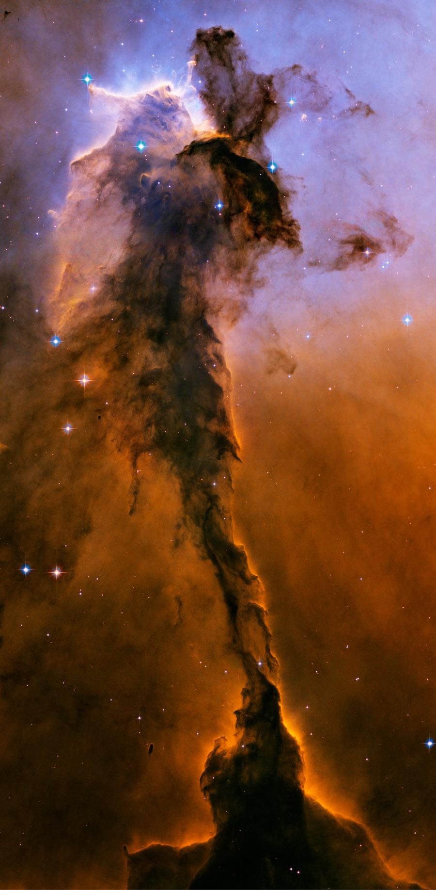 El hada de la nebulosa del Águila