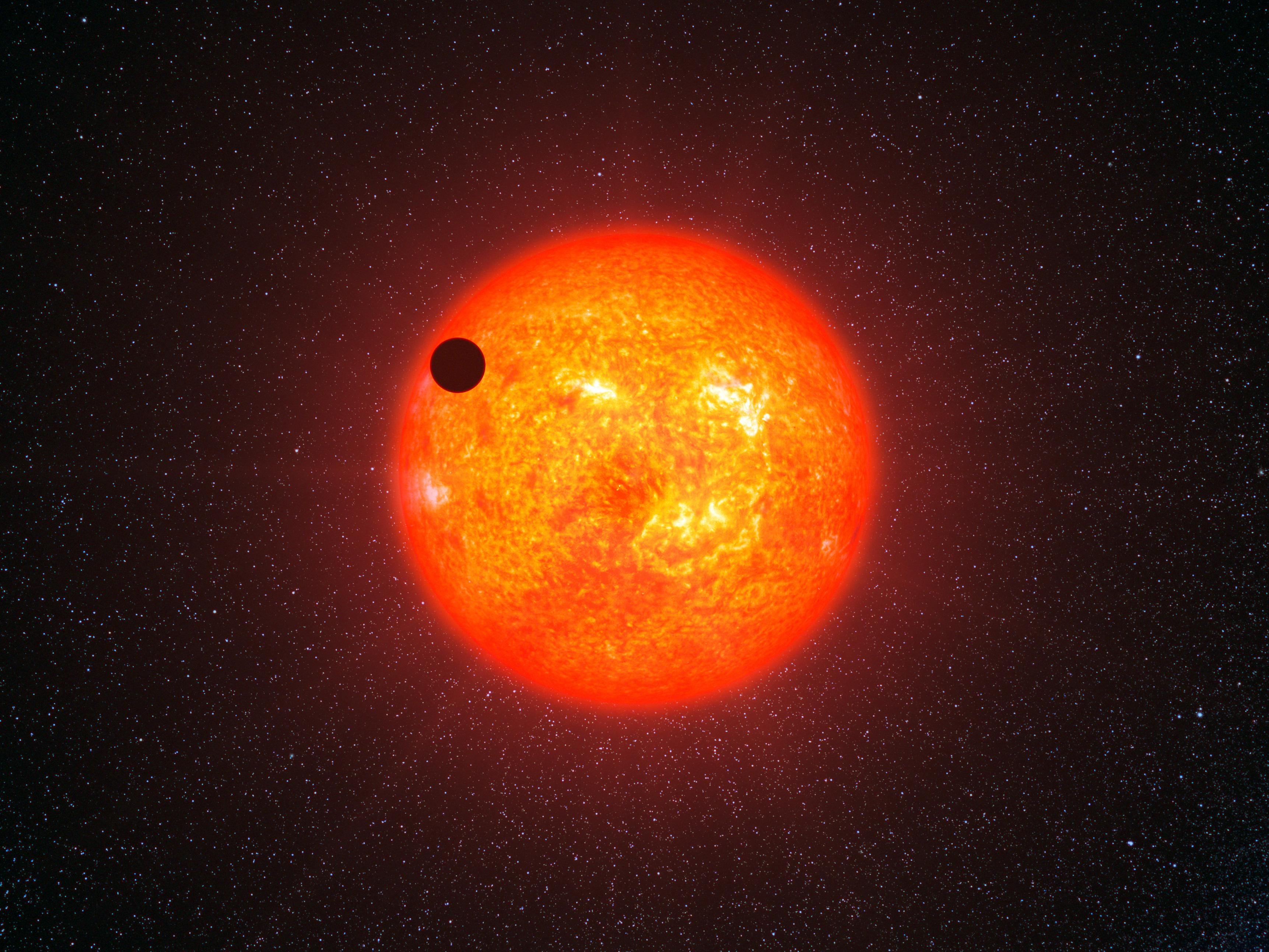 APOD: 2013 September 10 - Extrasolar Super Earth Gliese ...