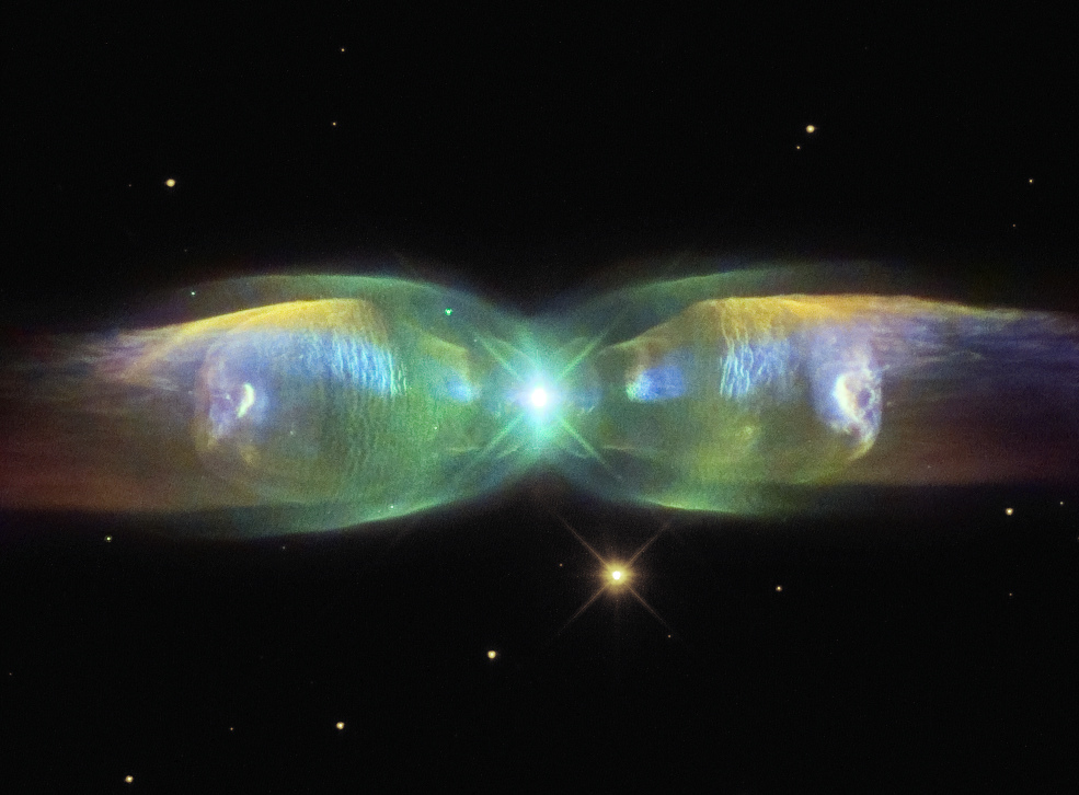 across the universe m2 9 wings of a butterfly nebula. Black Bedroom Furniture Sets. Home Design Ideas