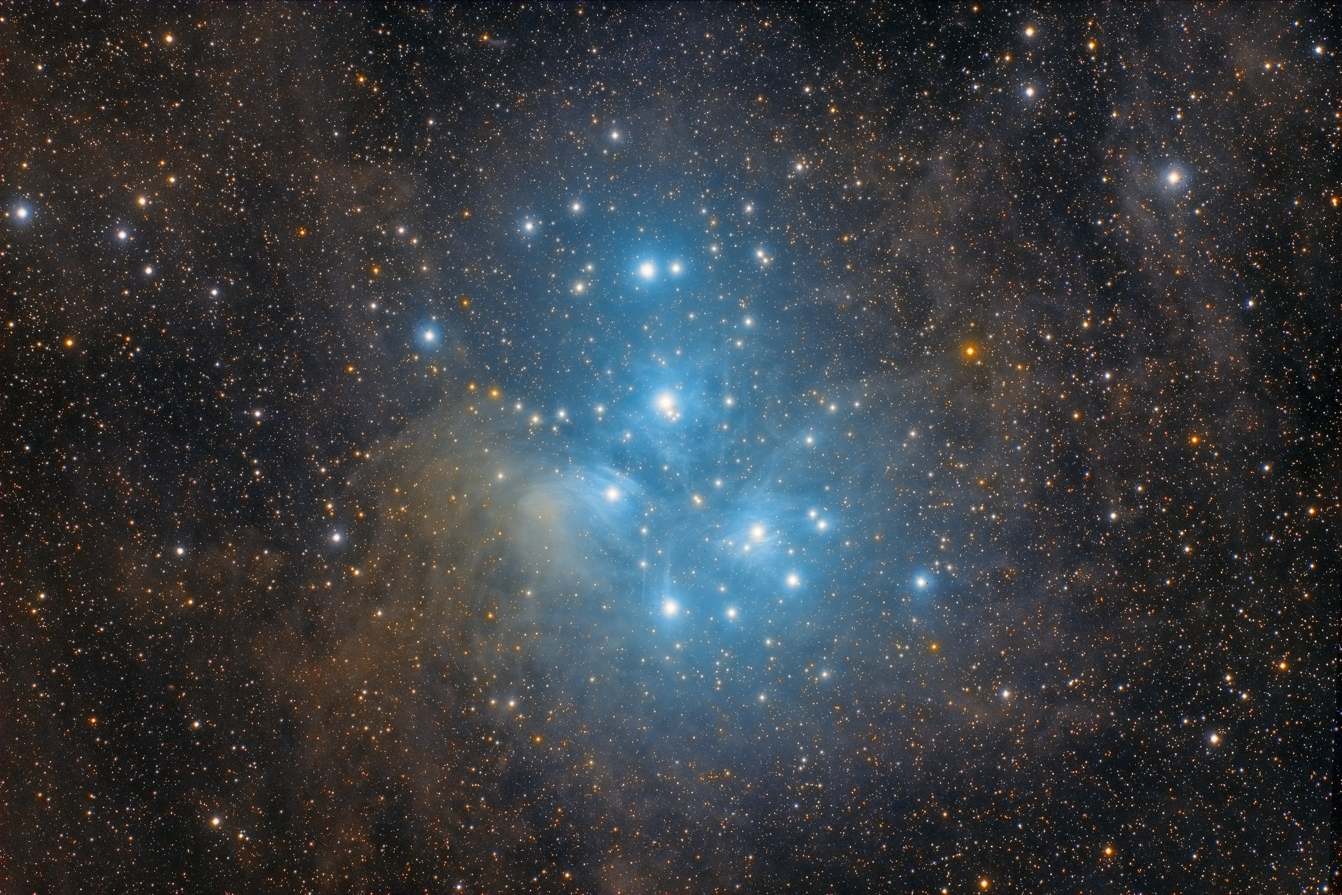 Apod 2013 September 18 M45 The Pleiades Star Cluster