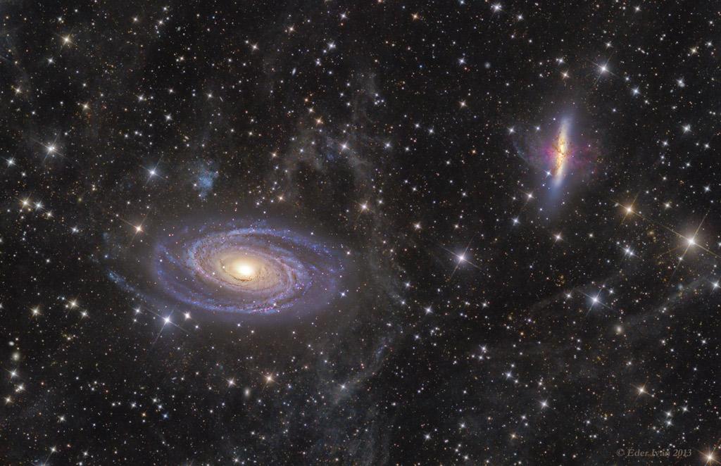 M81 versus M82