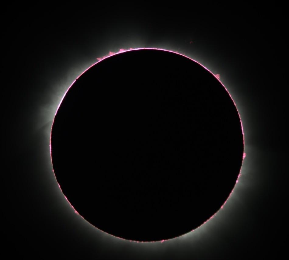 Eclipse Solar desde Uganda