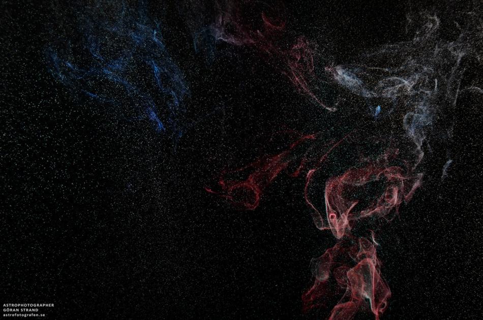 NGC 7841: Mlhovina Kouř v souhvězdí Frustriaus