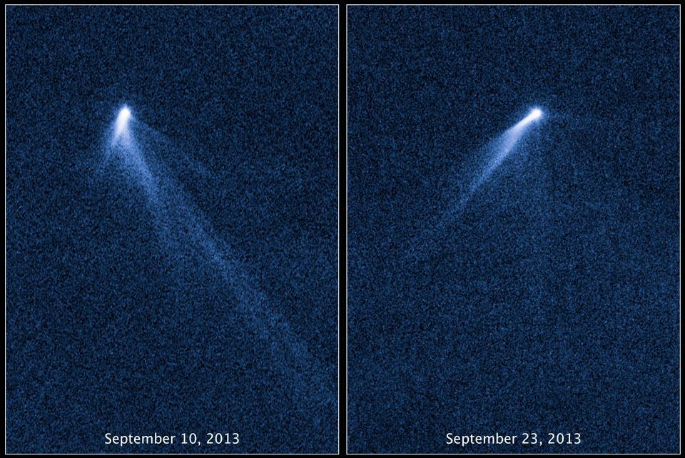 Las inesperadas colas del asteroide P5