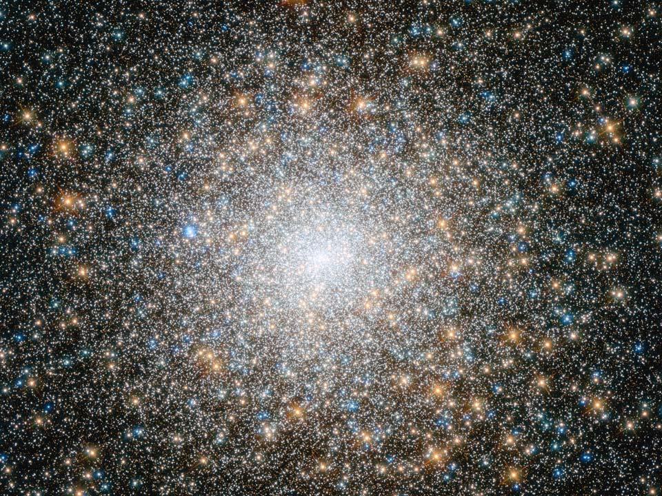 El cúmulo globular M15 del Hubble