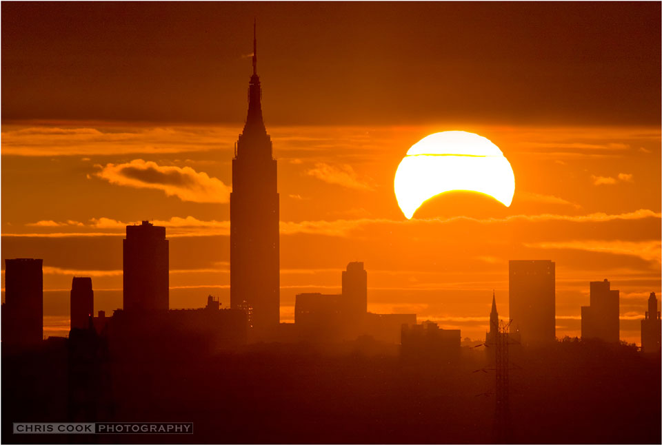 Eclipse Selama New York