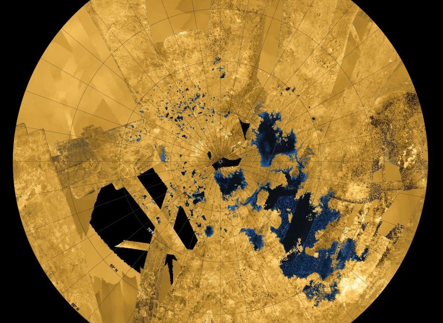 Titán, un mundo de lagos