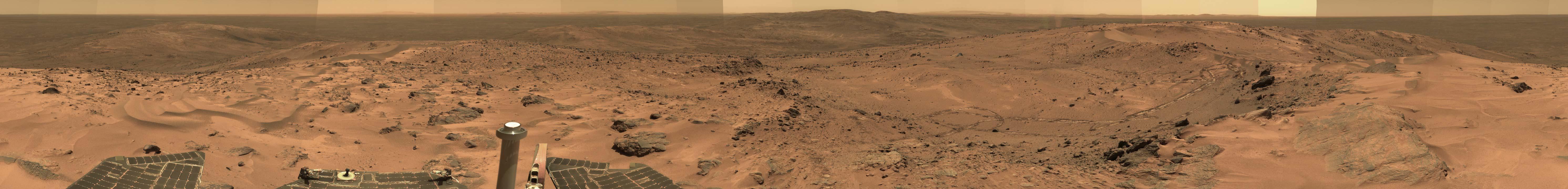 Everest Panorama dari Mars