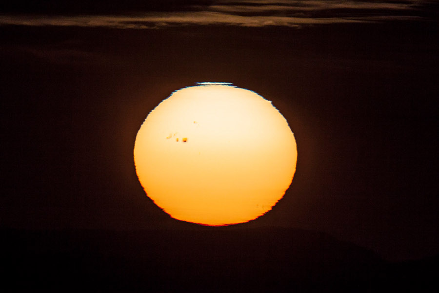 Sunspot di Sunset