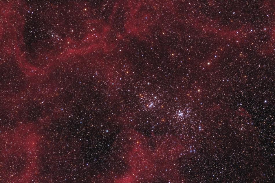 Cluster ganda di Perseus