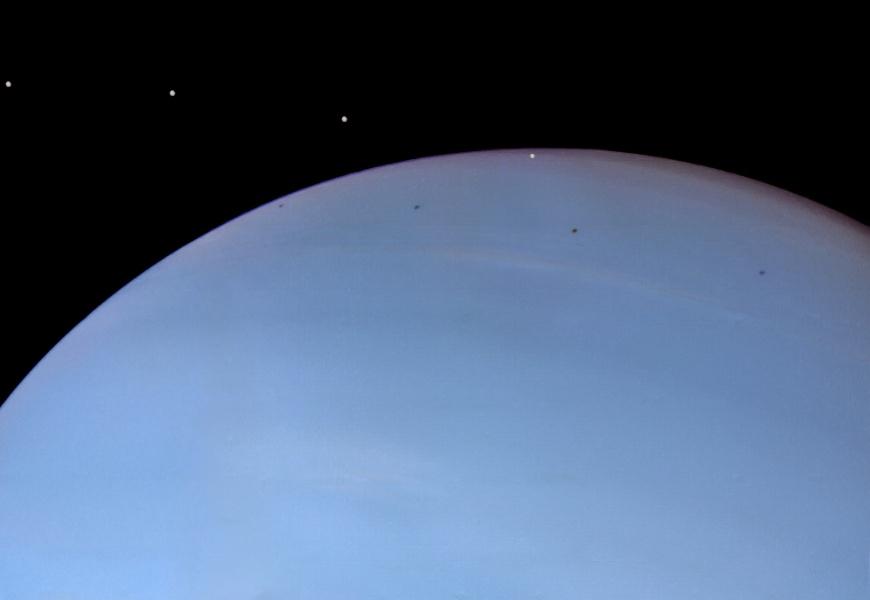 Despina, el satélite de Neptuno