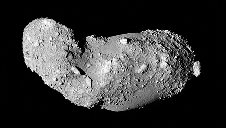 APOD: 2014 February 9 - The Missing Craters of Asteroid ...